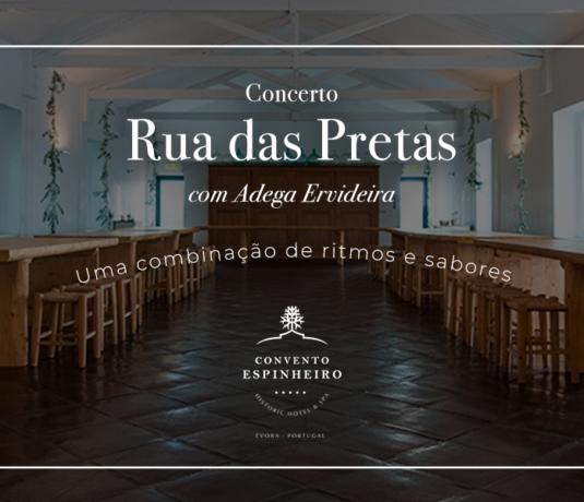 Concerto Rua das Pretas - Convento do Espinheiro