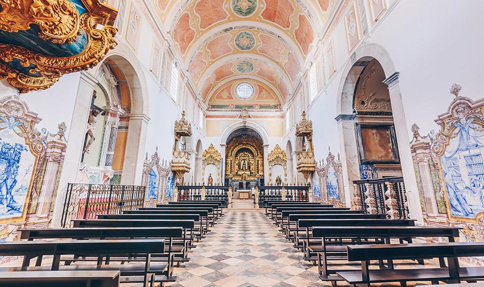 Igreja no Convento do Espinheiro