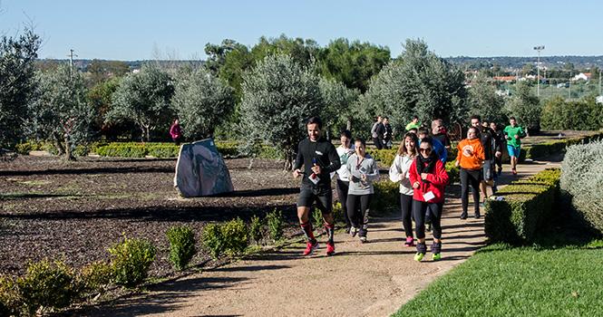 Jogging na cerca do Convento